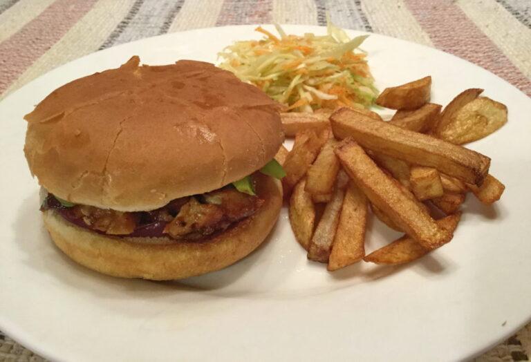 Hamburger au porc