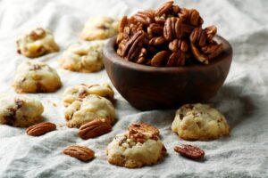 Biscuits aux noix et au miel