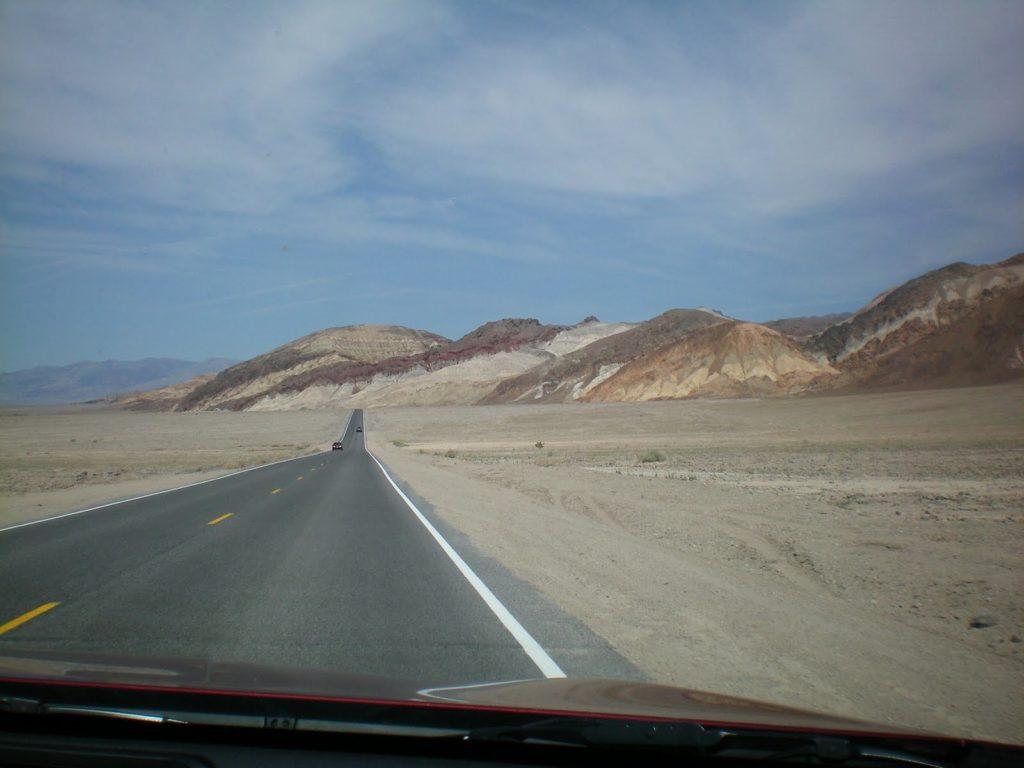 Balade printanière au parc américain Death Valley