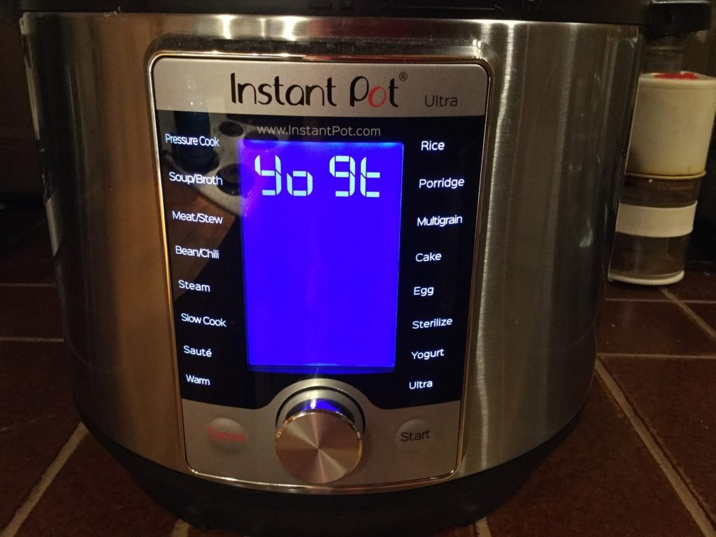 Yogourt instant pot