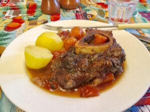 Jarret de bœuf aux carottes