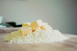 Tableau équivalence volume-poids pour pâtisserie