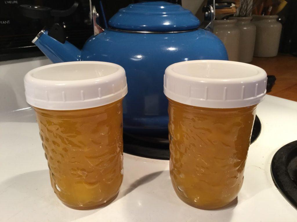 Tartinade de mangues au miel Photo