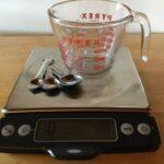 conversion volume poids des aliments