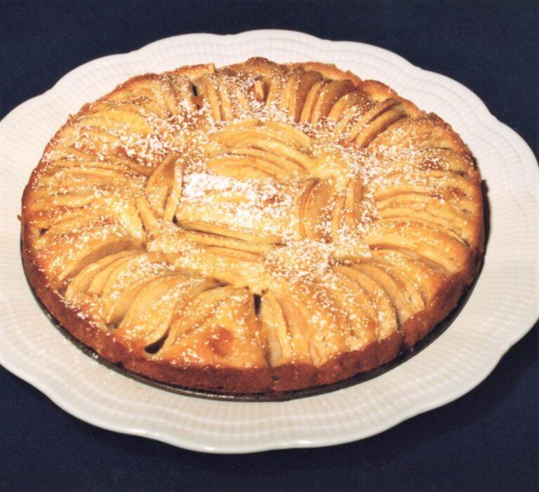 Gâteau aux pommes allemand