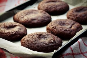 Chocolate soft cookies