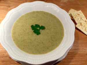 Potage brocoli dans l'Instant Pot