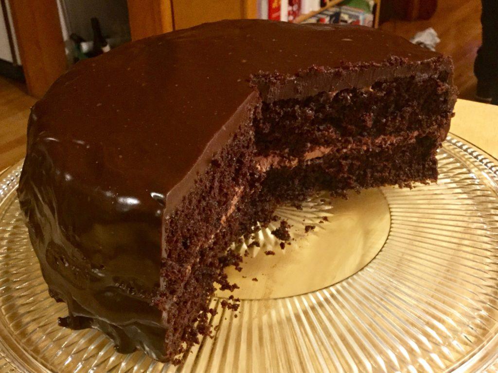 Gâteau au chocolat incroyable