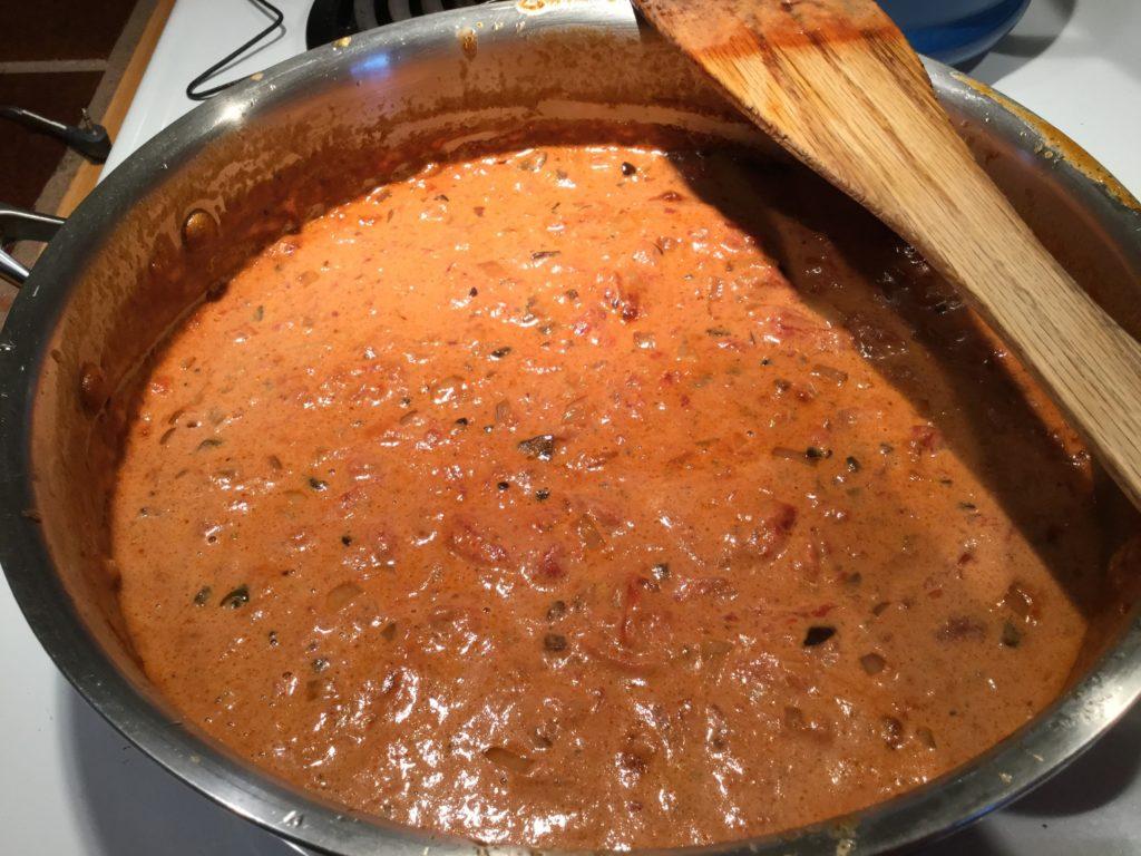 Sauce tomate à l'ail noir