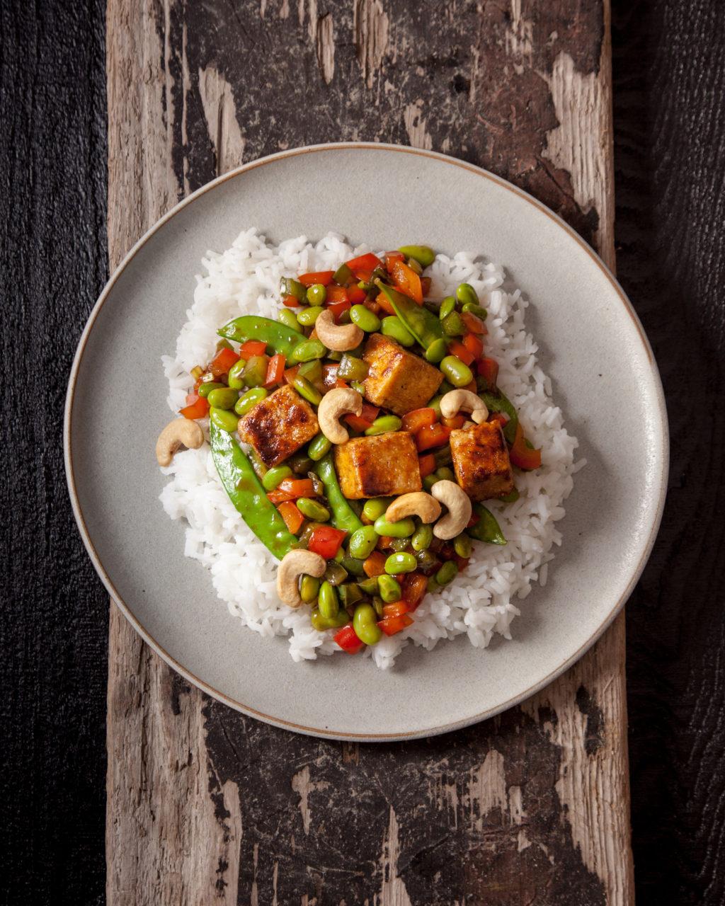 Sauté de Tofu et de Légumes à l'Érable
