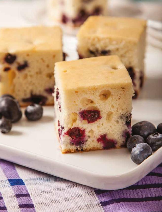 Gâteau aux bleuets à l'érable_resize