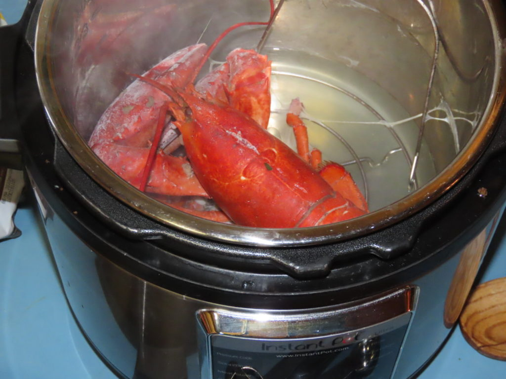 Cooking Lobster in Instant pot