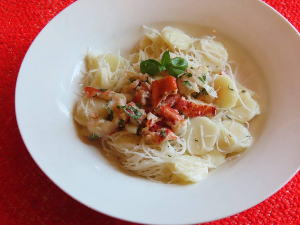 Rice Noodle Lobster Salad
