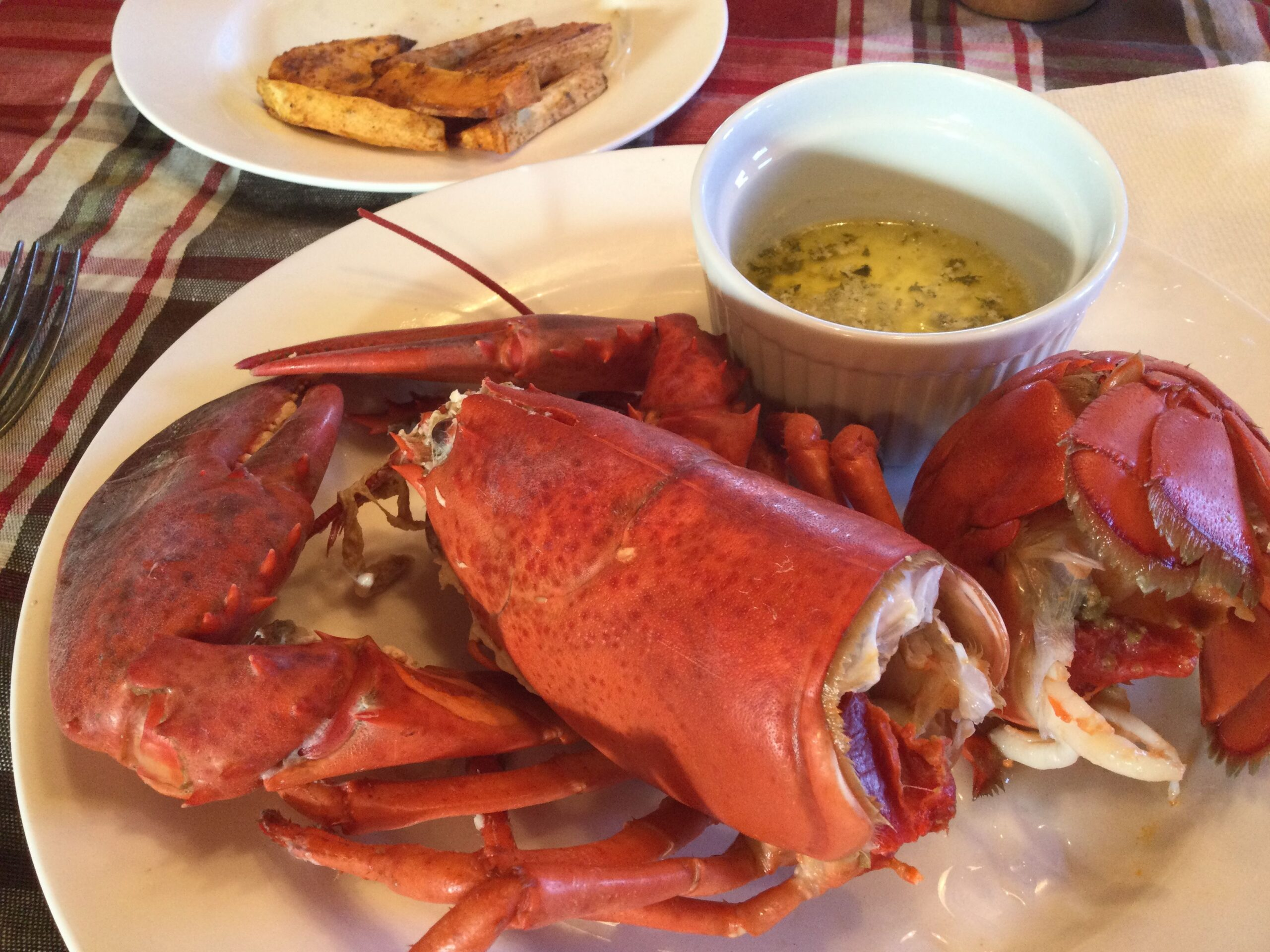 Boiled Lobster (Best if simmered)